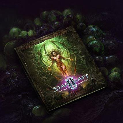 Image of Starcraft II: Heart of the Swarm - Collector's Edition - Art Book