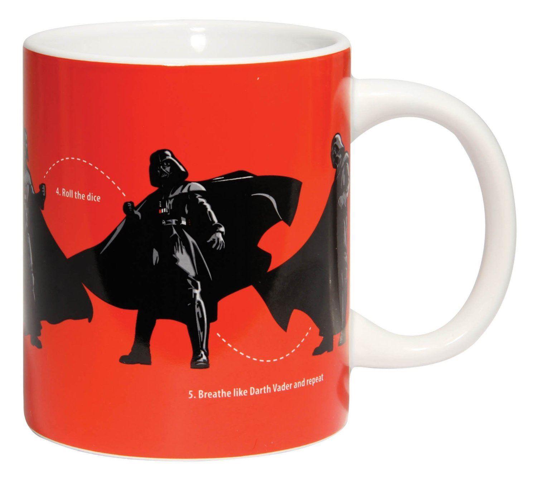 Image of Star Wars Darth Vader Dance Instructions Mug