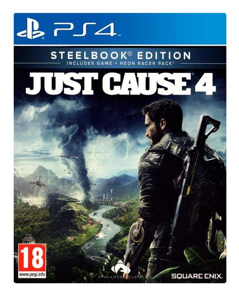 Just Cause 4 - Steelbook Edition (PS4)