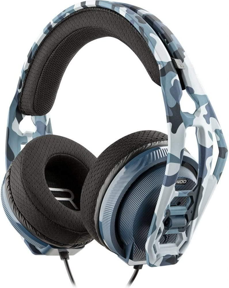 Nacon RIG400HS Gaming Headset - Blue Camouflage (PS4/PS5)