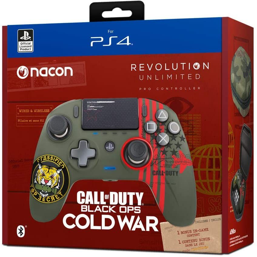 Nacon Revolution Unlimited Pro Controller Call of Duty Cold War Edition (PS4)