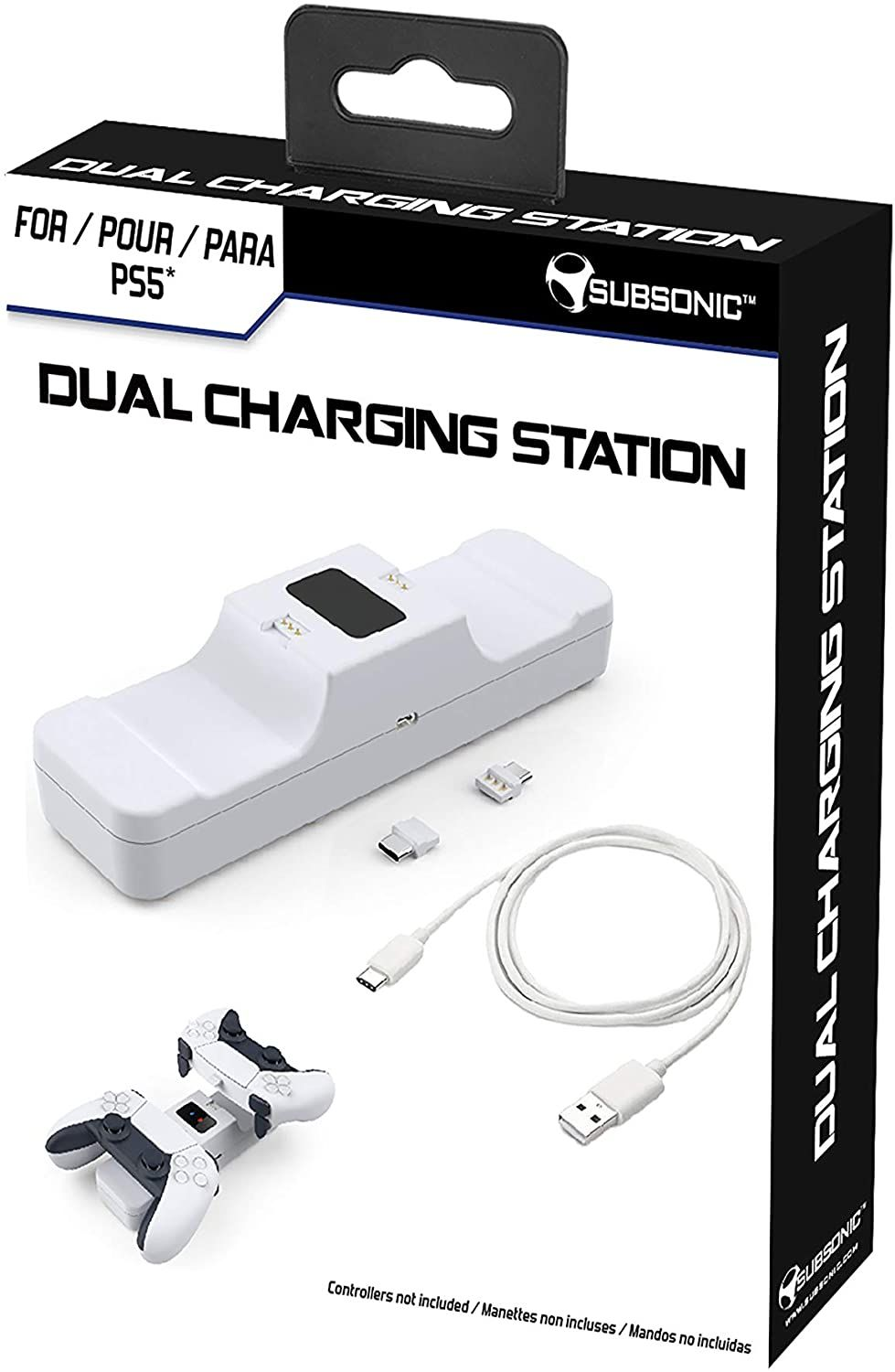 Subsonic Dual Charging Station for Playstation 5 Controller (PS5)