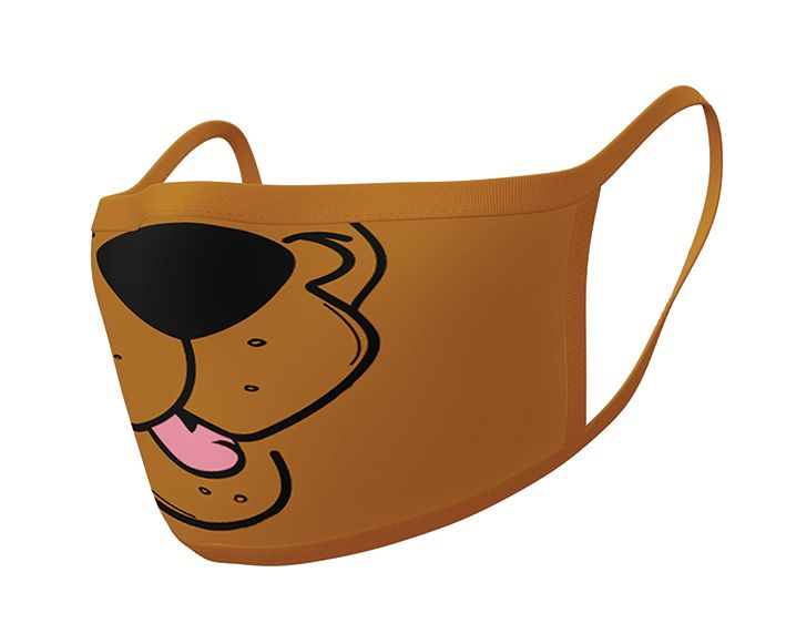 Scooby Doo (Mouth) 2 pack Face Covering