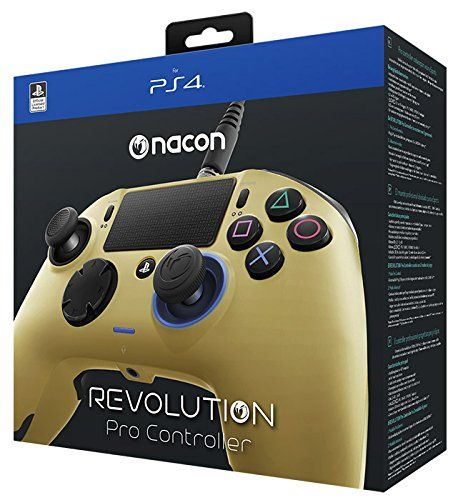 Nacon Revolution Pro Wired Controller Gold (PS4)