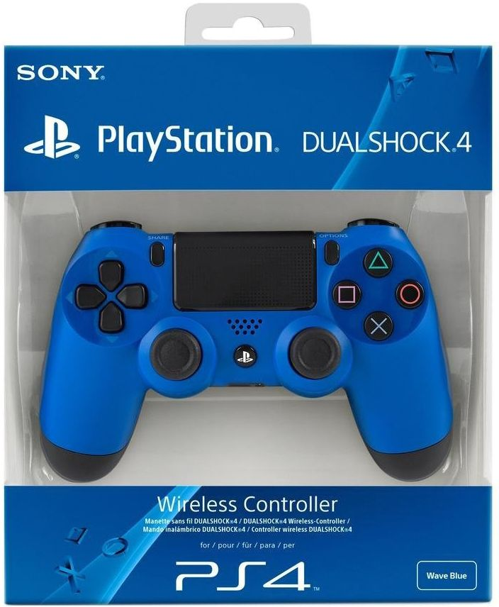 PlayStation 4 Blue Controller (PS4)