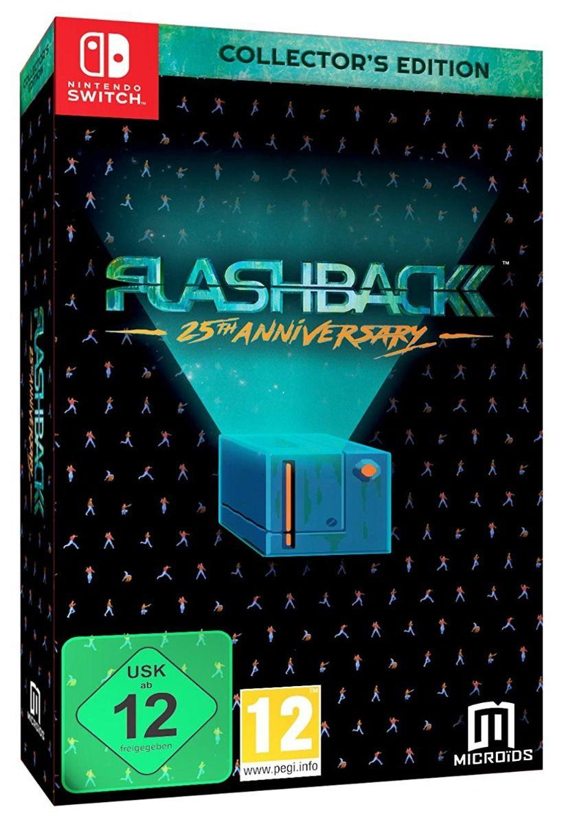 Flashback: 25th Anniversary - Collectors Edition (Nintendo Switch)