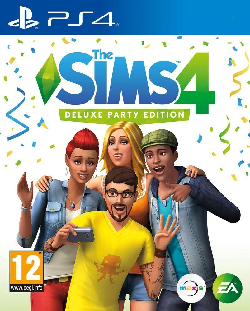 The Sims 4 - Deluxe Party Edition (PS4)