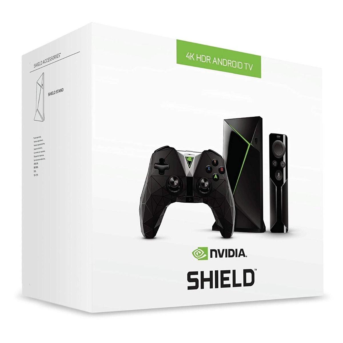 Nvidia: Shield TV with Remote and Controller (PC)