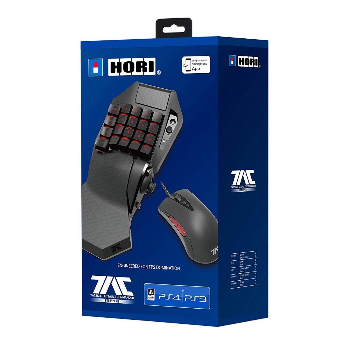 Hori Tactical Assault Commander Pro Gaming Keypad & Mouse (PS4)