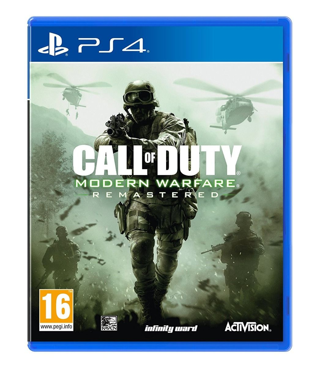 Call of Duty: Modern Warfare - Remastered (PS4)