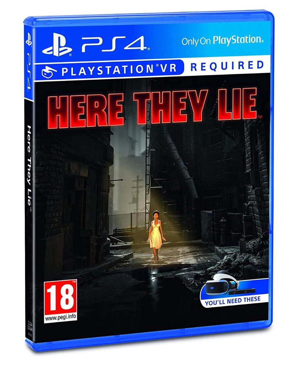 Here They Lie VR (PS4/PSVR)
