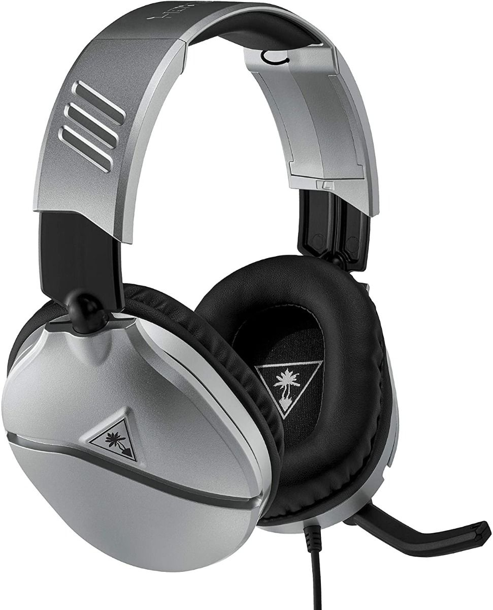Turtle Beach Recon 70 Silver Gaming Headset (PS4/PS5/Nintendo/Switch/Xbox/One/PC)