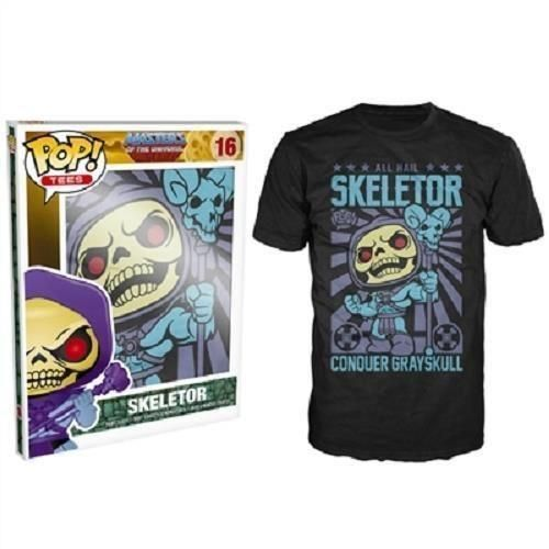Funko POP! Tees: Masters of the Universe - Skeletor T-Shirt (XS)