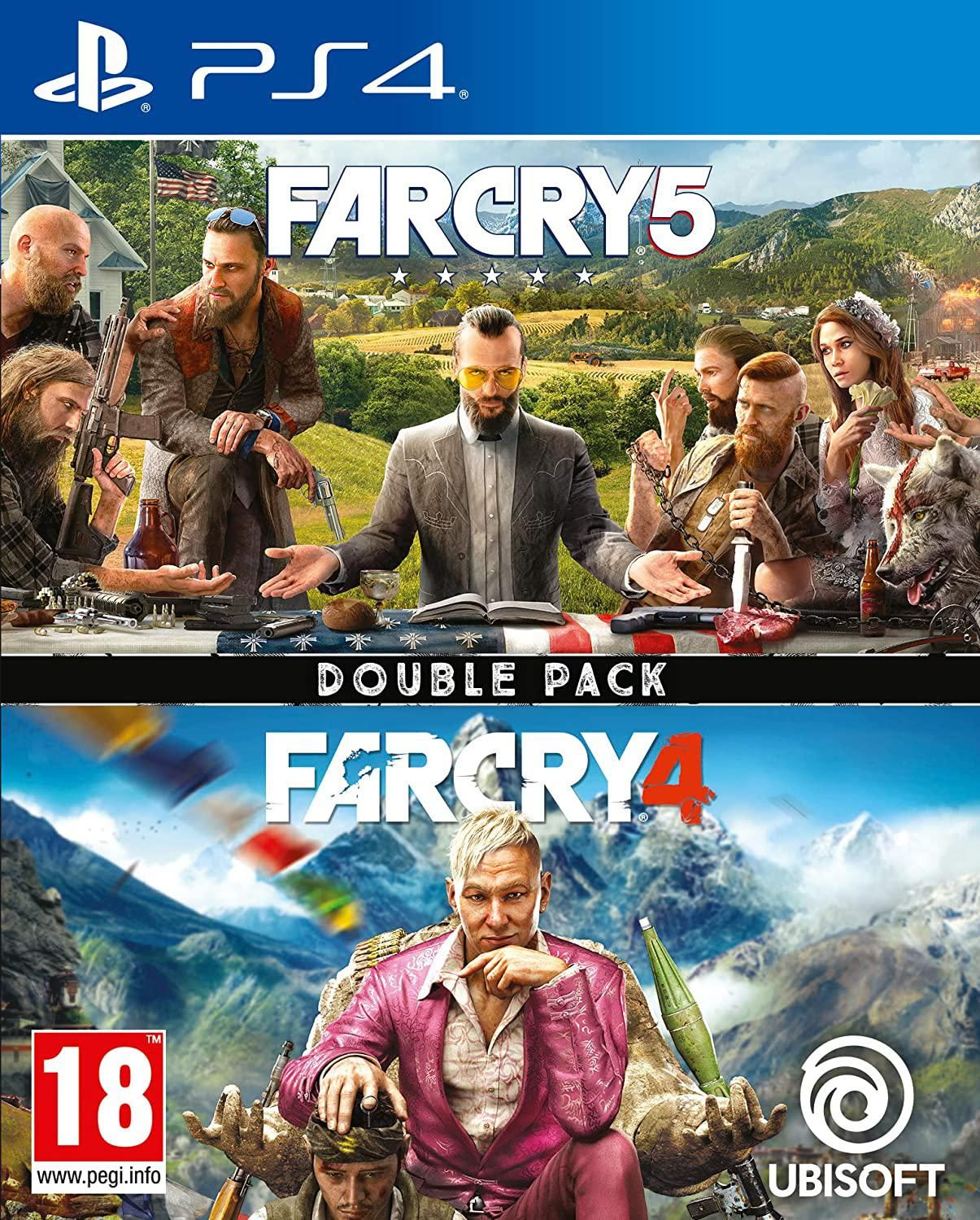 Far Cry 4 and Far Cry 5 (Double Pack) (PS4)