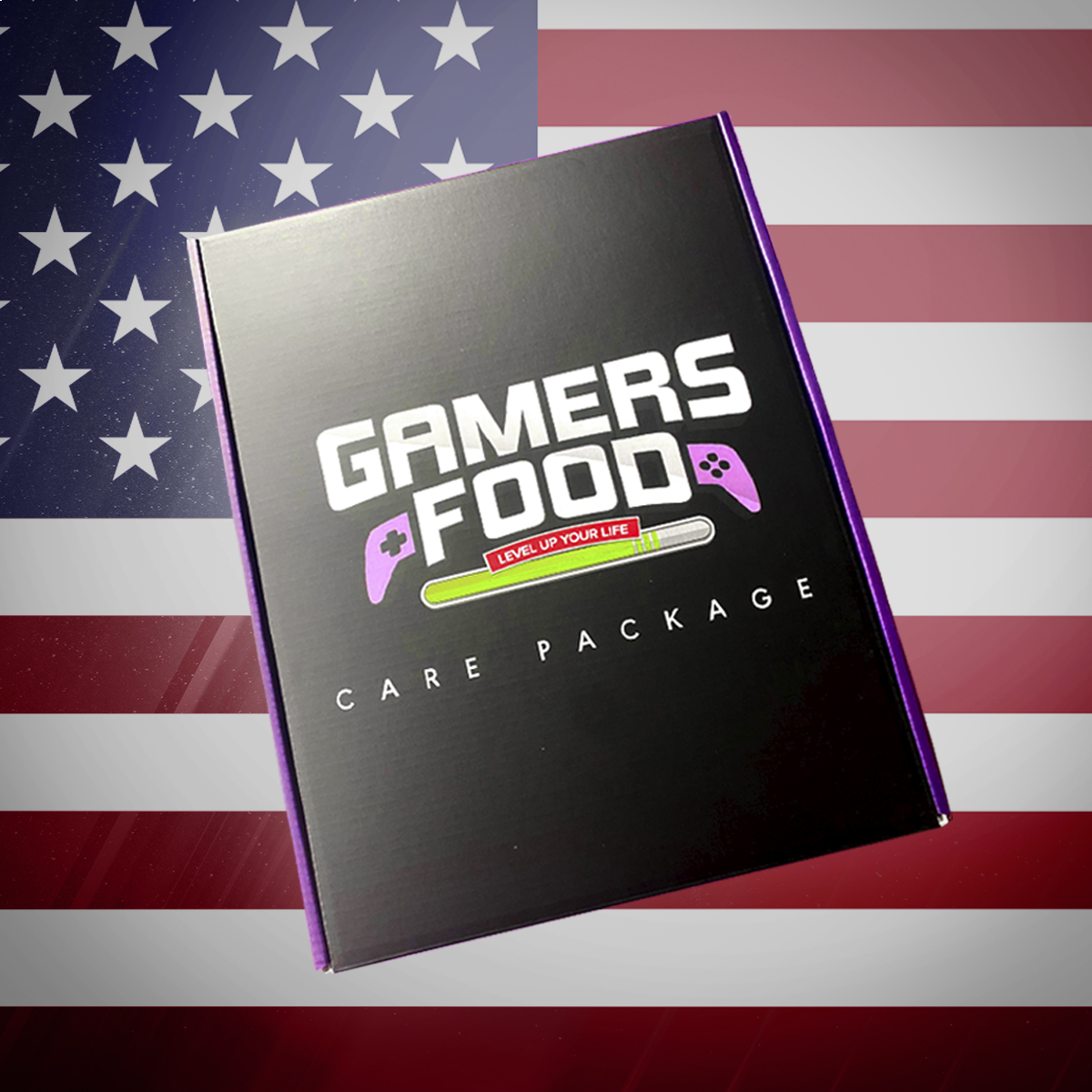 Gamers Foods Mystery Care Package (American)