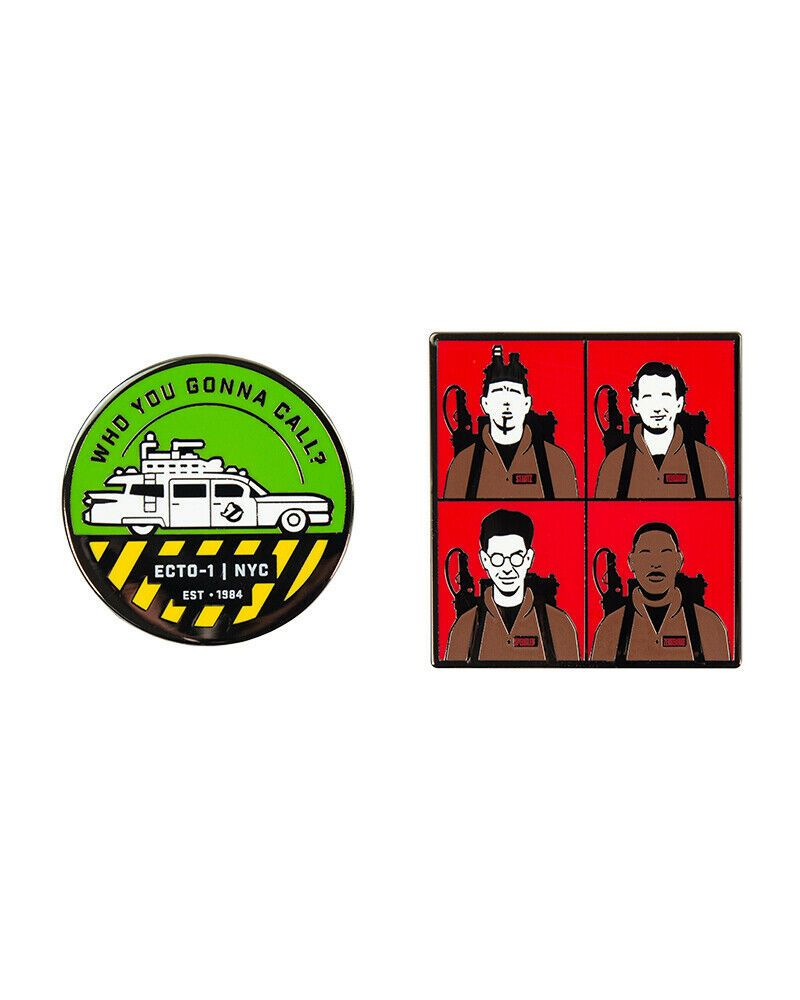 Pin Kings - Ghostbusters Who You Gonna Call/Ghostbusters Enamel Pin Badge Set