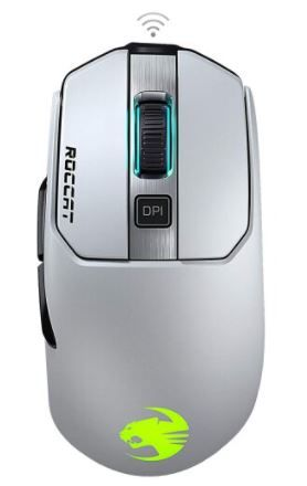 Roccat Kain 202 Aimo RGB Wireless Gaming Mouse - White
