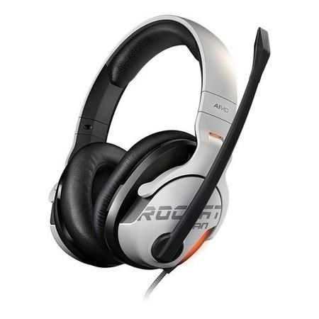 ROCCAT KHAN Aimo 7.1 High Resolution RGB Gaming Headset - White