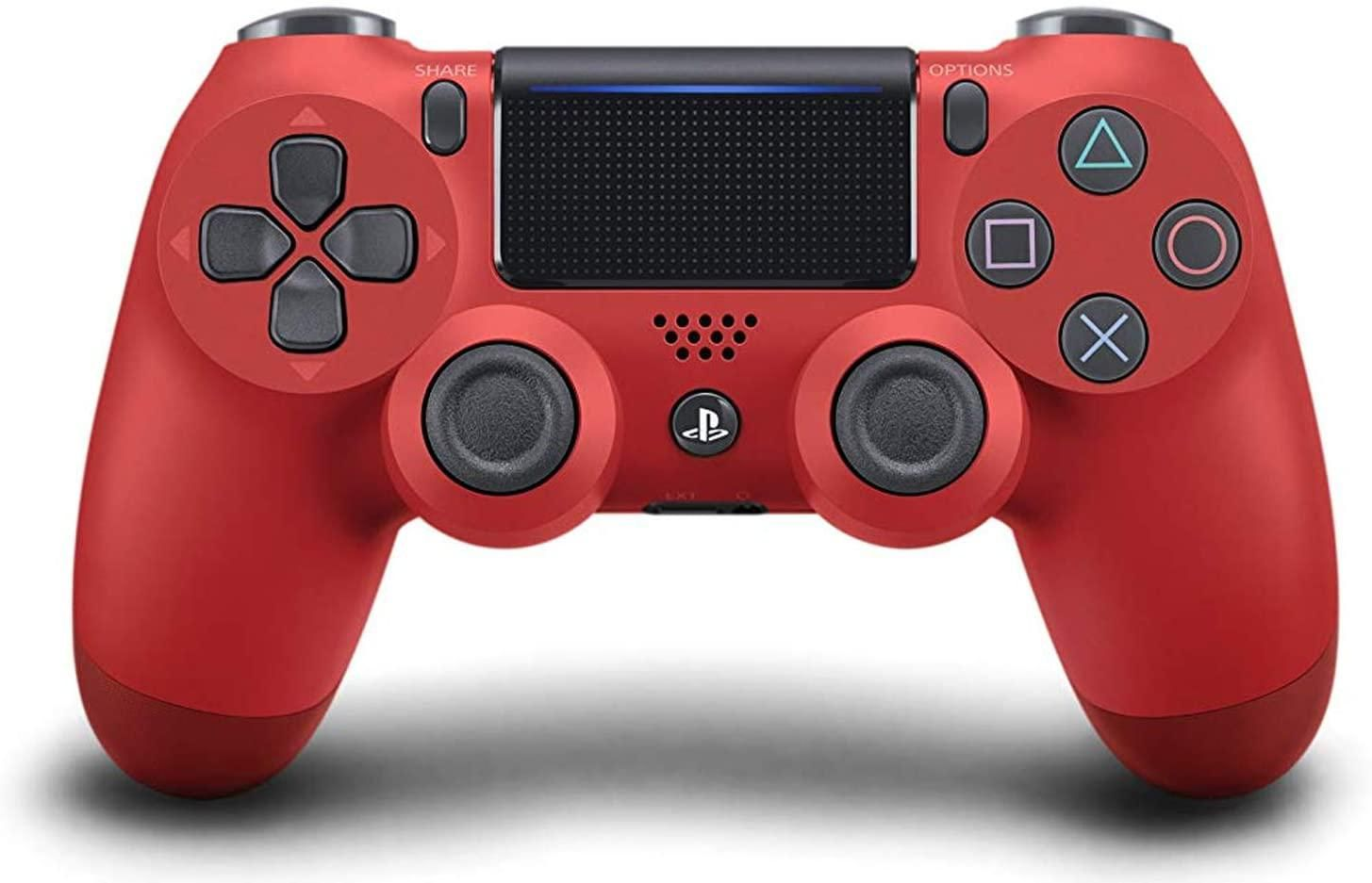 PlayStation 4 Dualshock 4 V2  Controller - Magma Red (PS4)