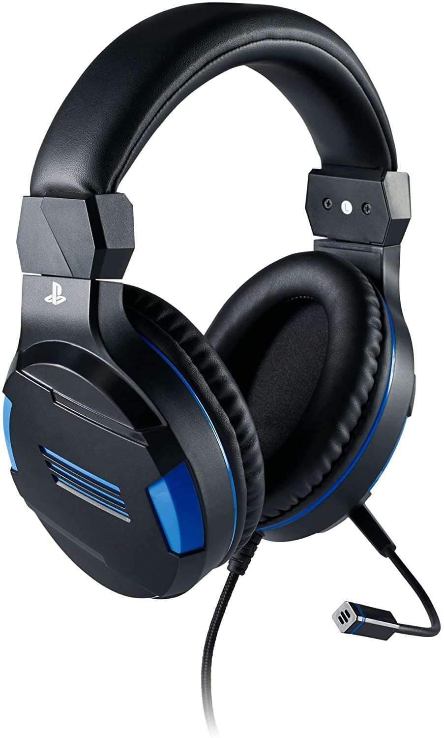 Big Ben Officially Licensed PlayStation 4 Stereo Headset V3 Wired - Titanium (PS4)
