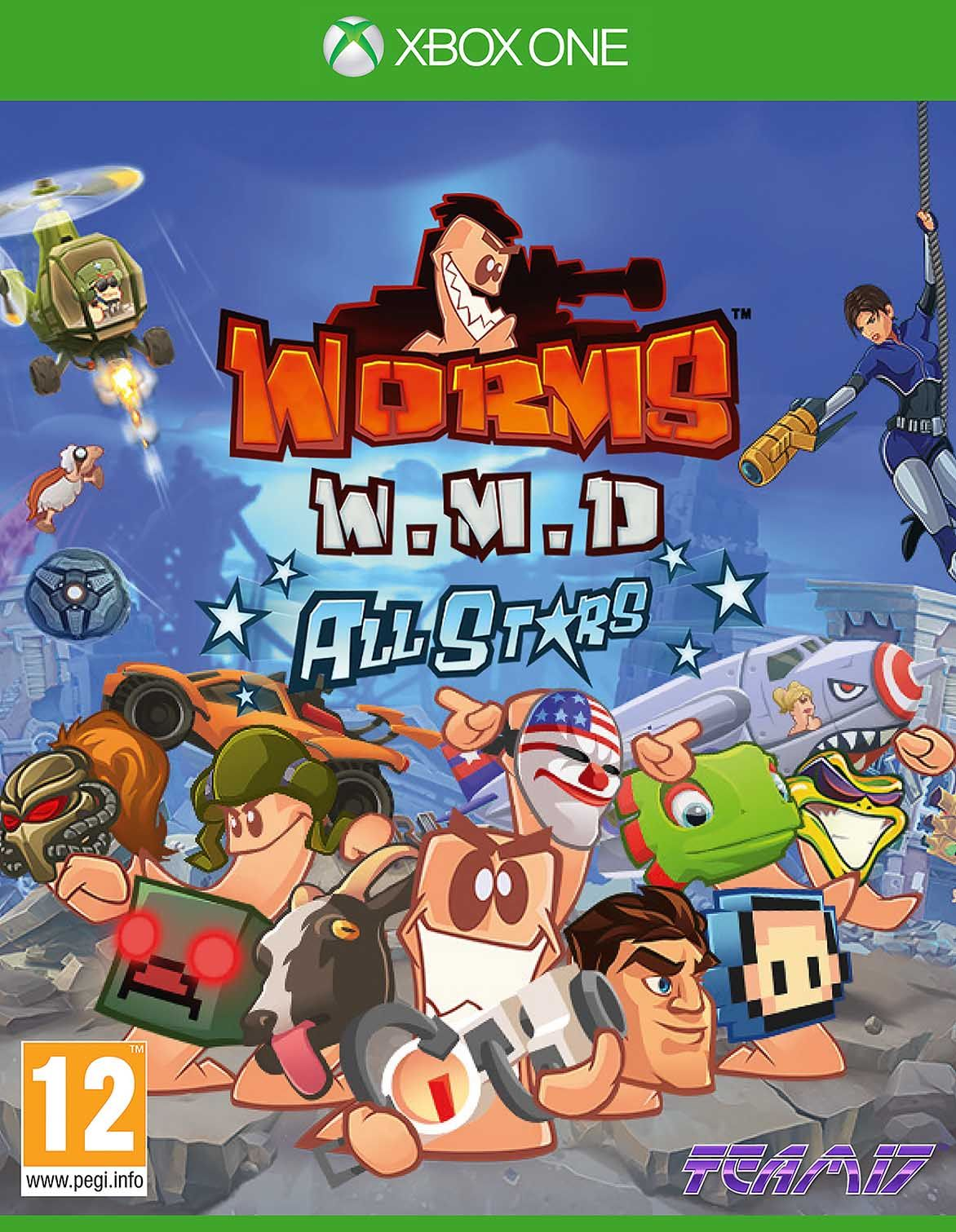 Worms Wmd All Stars (Xbox One)