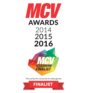MCV Awards Finalist - Best Video Retailer 2014 2015 2016